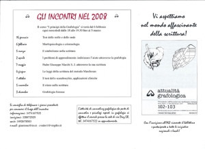 attività annuali 2008