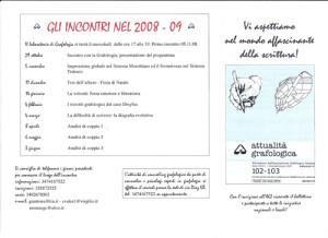 attività annuali 2008-9