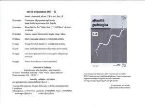 attività annuali 2011-12