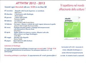 attività annuali 2012-13