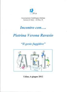 incontri con Pietrina 2012